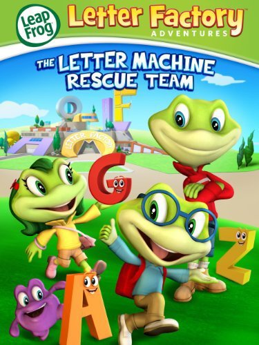 Leap Frog Letter Factory Adventures: The Letter Machine Rescue Team (видео)